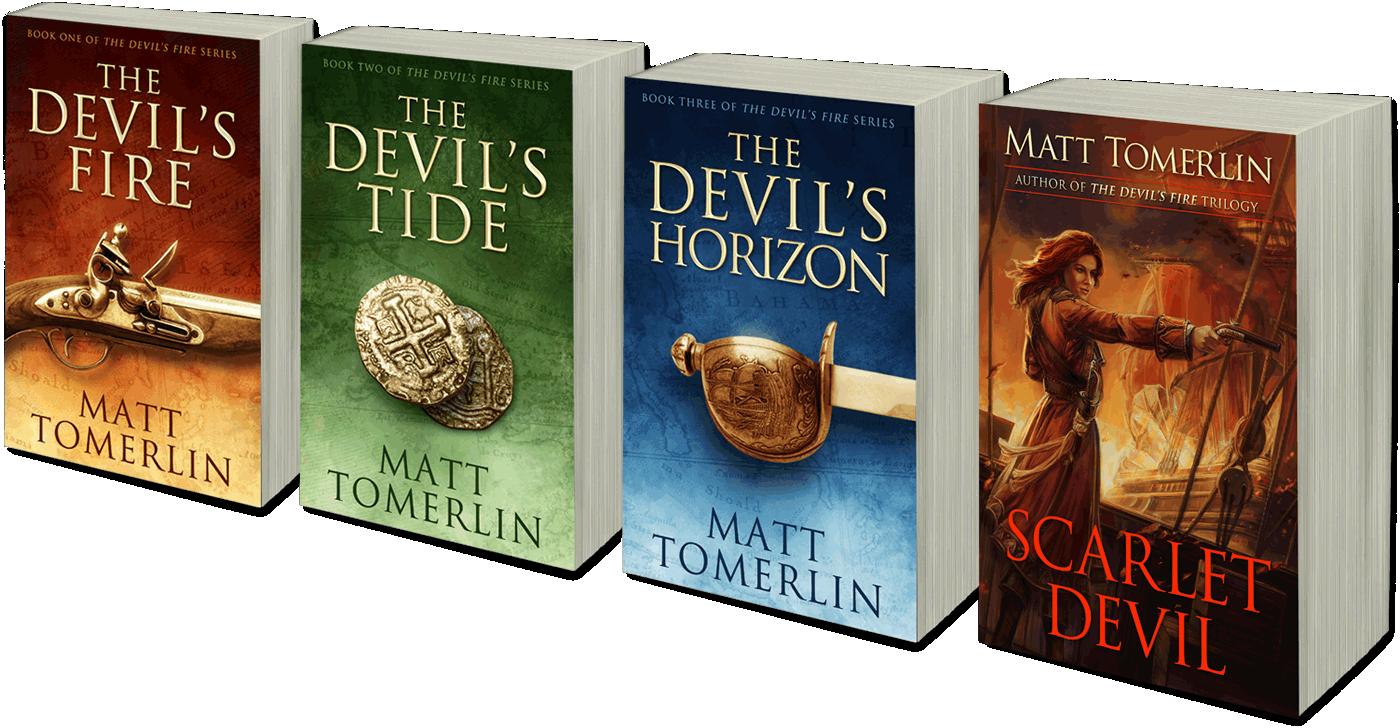 Matt Tomerlin's Pirate Novels - Paperback and Kindle eBooks