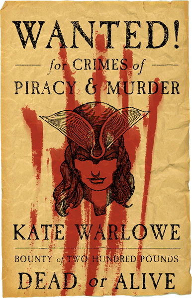 WANTED! Kate Warlowe - Matt Tomerlin's Pirate Novels